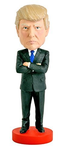 Donald Trump Bobblehead by Royal Bobbles, Presidential Candidate Doll
