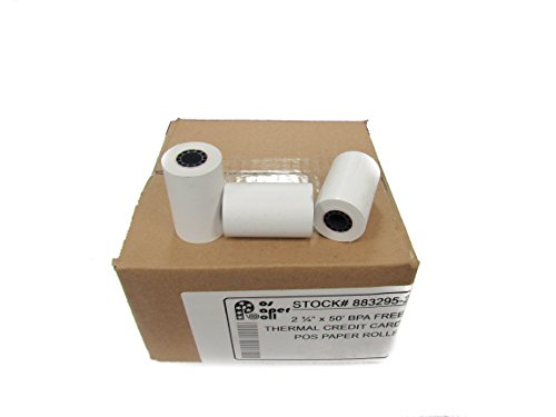 PRN Thermal Paper, 2 1/4 inches x 50 feet  (Pack of 50)