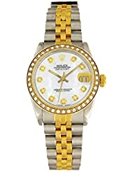 Rolex Datejust Automatic-self-Wind Female Watch 68273 (Certified Pre-Owned)
