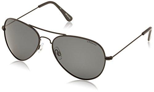 Grey Aviador de Black para Negro 4213 Gafas hombre Polaroid Pz sol tgq5Szxw