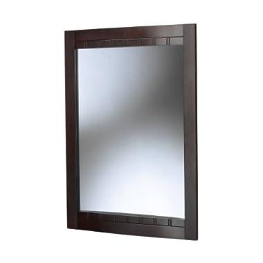 Foremost BLCM-2434 Bellani Dark Cherry Bathroom Mirror