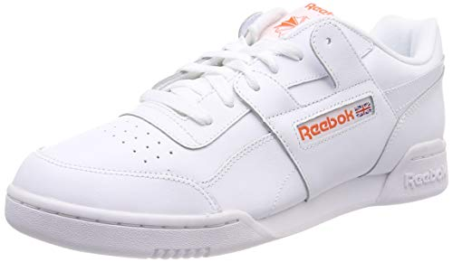 Pour Chaussures Homme De Workout Reebok 0 Sport Plus Brillante lava Blanches Mu Blanche twYqU0