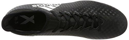 adidas X 16.3 Tf, Zapatillas de Fútbol para Hombre Negro (C Black/ftw White/c Black)