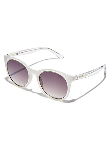 Brown GU7466 White Mirror Sonnenbrille Guess aSAqEn