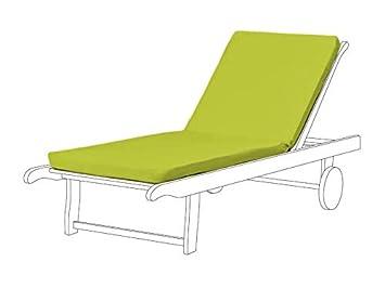 Pour Chaise Ventures 2 Pièces Vert Berryfield Longue Coussin Lime SVMpqzU