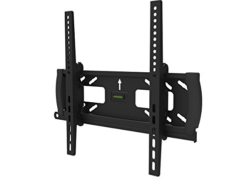 """Black Adjustable Tilt/Tilting Wall Mount Bracket with Anti-Theft Feature for Samsung UN40EH5000 40"""" inch LED HDTV TV/Television"""