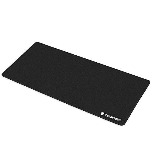 TeckNet® XL Gaming Mauspad Maus Mat - In den Maßen: 900x450x3mm - Rutschfeste Unterseite aus Gumm - Spezielle behandeltes Material