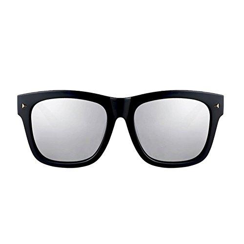 DT Sol UV Hombre de 2 para Sol Gafas Style Harajuku Sol Protección Gafas con para 1 Hombre de Color Gafas Gafas de Retro grwqOg4