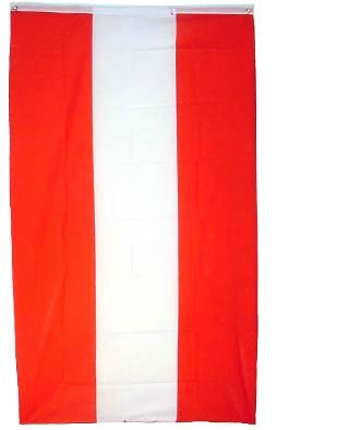 amazon com flags unlimited new austria flag 3x5 ft austrian banner