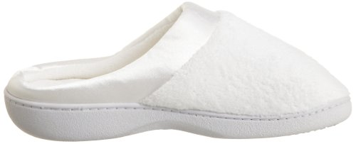 White ISOTONER Women's Microterry Women's Microterry Clog Clog ISOTONER 8ZOa08xw