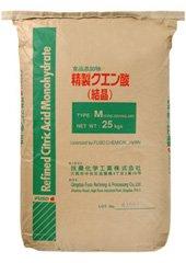 クエン酸 結晶 25kg☆安心の国内メーカー品 食品添加物レベル品-専用袋入り- B003JHAIM6