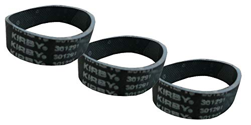 Kirby 3 Genuine Ribbed Vacuum Cleaner Belts