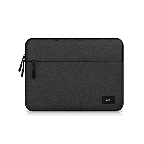 Water Resistant Canvas Laptop Sleeve Case with Pocket for 12.2