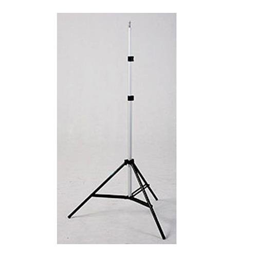 (JTL 600 6.5' Lightstand, 3 Section, Black Anodized Base with Chrome Risers.)