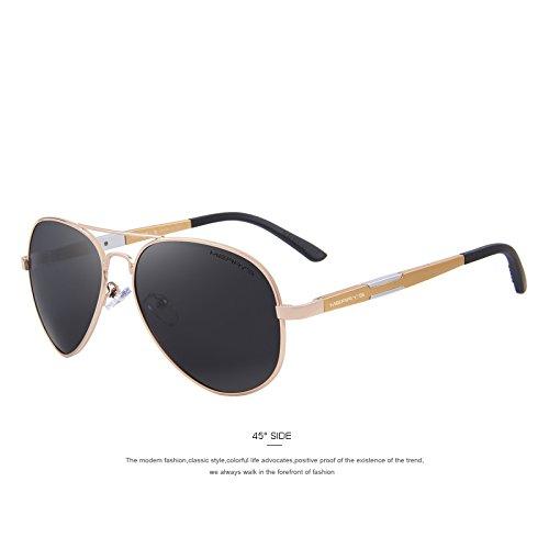 Guía C04 Gold polarizadas gafas sol gafas gafas hombres Classic C01 aluminio Los HD Negro magnesio sol hombres de de TIANLIANG04 de sol de xqY1vBwc