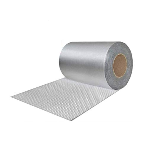 Hongyuantongxun Waterproof Tape, Room Roof Wall Crack Doors and Windows, Water Pipe, Bathroom Tile, Glass Color Steel Tile, Water Leakage Coil (20cm Wide 5m Long),Low Temperature Resistance