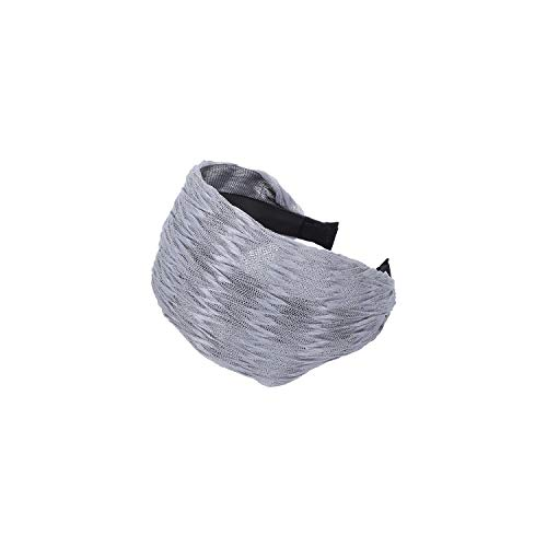 Solid Colors Headbands For Women Star Hair Band Spinning Headband Girls Spinnin Hair Accessories,Silvery