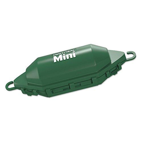 Twist and Seal Mini Holiday Light Cord Protector and Christmas Light Plug Cover - Green