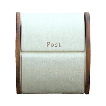 ディーズガーデン メールボックス シフォン ホワイト メールボックス   B00EZZTSF4