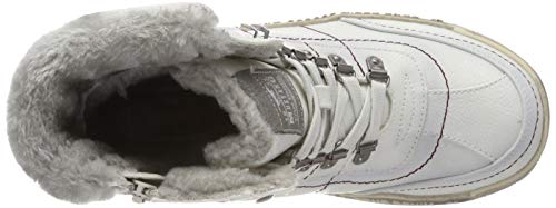 Women's Schnür 203 white Ice Booty Trainers Hi Off Mustang Top 5dzZw75q