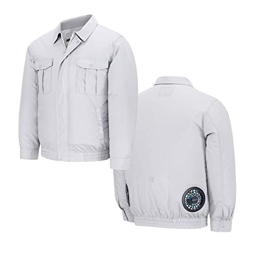 Lacool Unisex Workwear Jacket Clothes Equipped Cooling Fan for Summer Outdoor Air-Conditioned