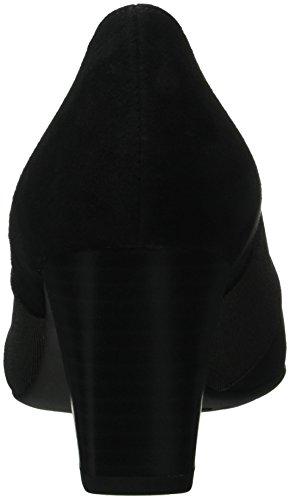 Dorna schwarz Peter Fermé Femme Bout 240 Kaiser Noir Escarpins Suede q5xC7F