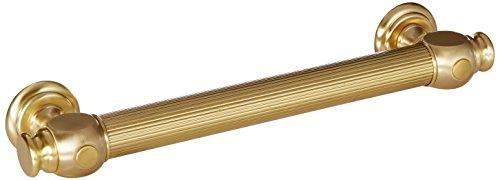 (Jaclo G61-12-SB Straight Smooth Transitional Grab Bar, Polished Copper)