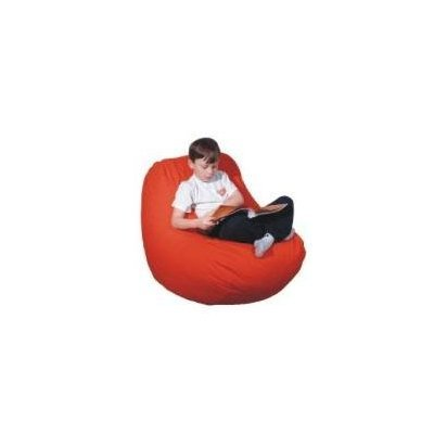 Big Bean Beanbag Chair Poly Cotton Bean Bag Red Twill