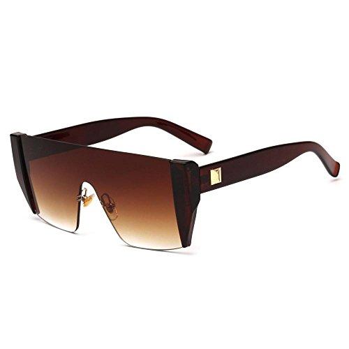 Aoligei de B gafas gafas sol brillantes hombre de sol moda sol Gafas europeo de retro Color rZxrU4w0