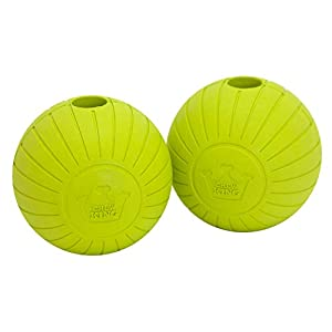 Chew King Fetch Balls Extremely Durable Natural Rubber Toy