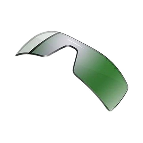 Oakley Oil Rig Men's Active Replacement Lens Casual Sunglass Accessories - Emerald Iridium / One - Oil Rigs Oakley