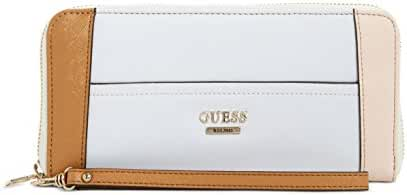 GUESS Huntley Saffiano Large Zip Around