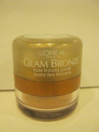 Loreal - Glam Bronze - Loose Bronzing Powder - Sandstone Shimmer - (Loreal Bronze Bronzing Powder)