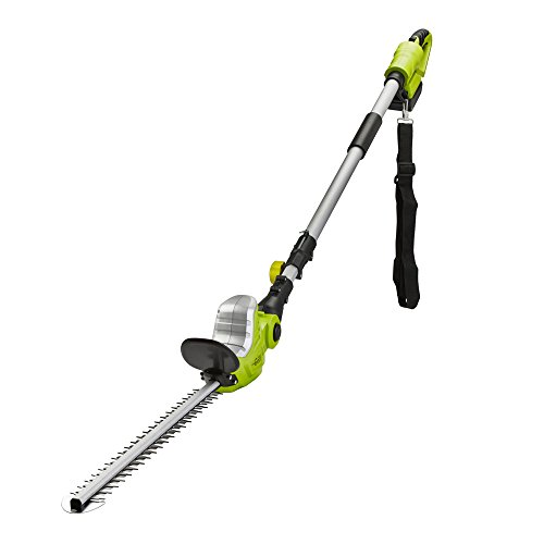 Garden Gear Cordless Extendable Trimmer with Adjustable Head & Lithium-ion...