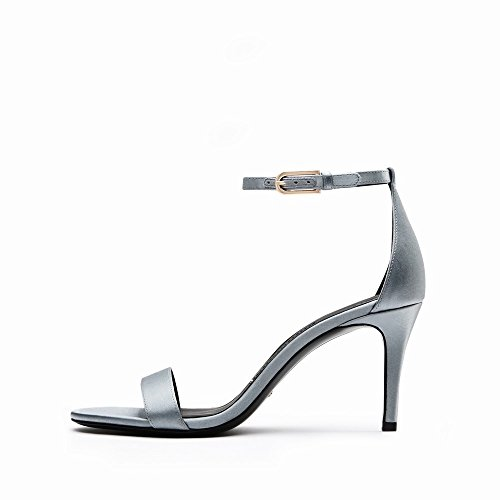 Hauts Boucle Talons Chaussures avec Ré à D'Été 36 des Femmes Chaussures à Sandales DHG Talons fYtqEw