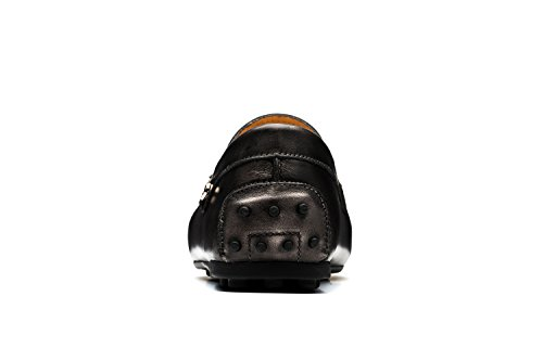 Chaussures Homme OPP Loisir Cuir Mocassins Neuf Gris de en 4pxaqx5wd