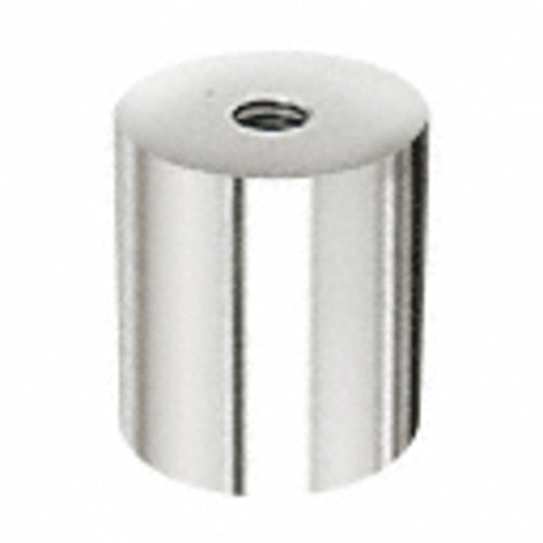 C.R. LAURENCE ACSB112112PS CRL Polished Stainless Clad Aluminum Standoff Base 1-1/2