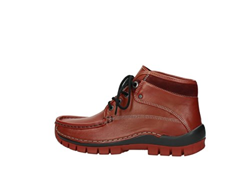 Winter 30540 Lacets À Rouge Comfort Bottines Hiver Cross Wolky Cuir gAPqxn