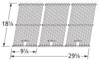 Music City Metals 5S743 Stainless Steel Wire Cooking Grid Replacement for...
