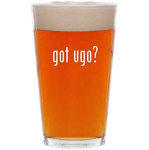 got ugo? - 16oz Pint Beer Glass