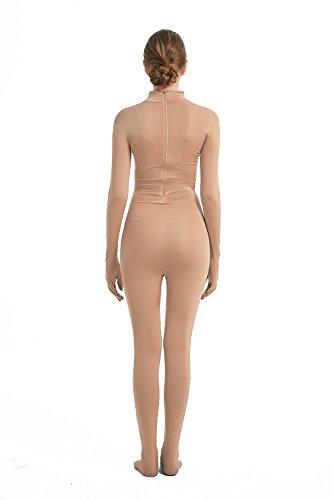 Zentai bodysuit Costume Unitard Without Hood One Piece Spandex Women Body Suit