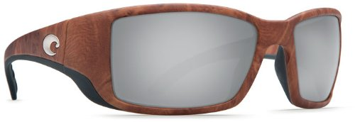 Costa Del Mar Sunglasses - Blackfin- Glass / Frame: Gunstock Lens: Polarized Silver Mirror Wave 580 Glass by Costa Del Mar