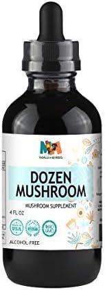 Mushroom Tincture Alcohol Free Cordyceps Enokitake product image