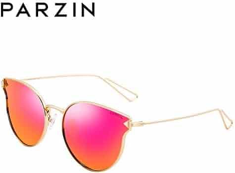 18f0945ab Classic Women Polarized Sunglasses PARZIN Men Oversized Eyewear UV  Protective