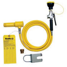 Bradley 8 foot Drench Hose Spray Kit