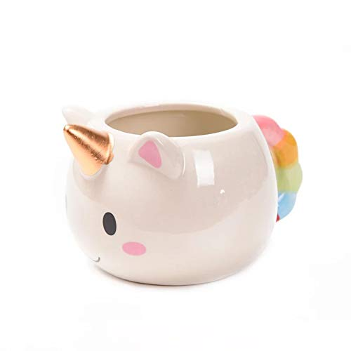 SweetLifeIdea Ceramic 11.oz Unicorn Coffee Cup Coffee Mug Tea Cups Gift Idea