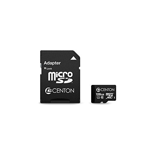 Centon S1-MSDXU1-128G MP Essential Micro SDXC Card, UHS1, 128GB