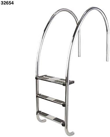 LordsWorld - Astralpool - 32654 3-Escalera Plegable para la Piscina con los Bordes del Infinito - Escaleras y escaleras para Acceder fácilmente a Piscinas - 32654 Global: Amazon.es: Jardín