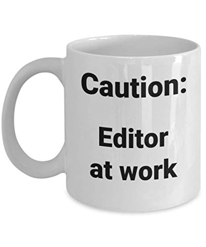 Editor Coffee Mug Funny Gift Idea for Author Writer Publisher Coworker Boss Promotion New Job (Best Publishers For New Writers)