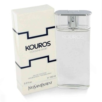 Kouros Sport Eau Dete by Yves Saint Laurent for Men - 3.3 oz Cologne Spray